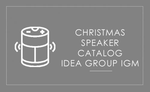Idea Group IGM - Christmas speakers