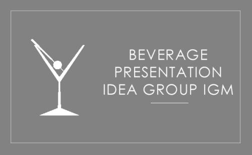 Idea Group IGM - Beverage