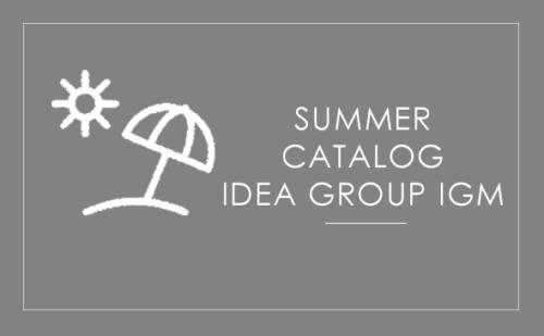 Idea Group IGM - Summer