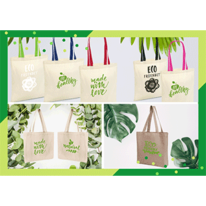 Shopping bag ecocompatibili